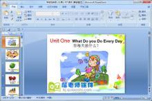 学前班英语《水果》PPT课件下载