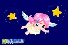 幼儿园小班音乐《摘星星》FLASH动画课件下载