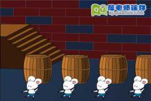 大班音乐《小老鼠与啤酒桶》FLASH动画课件