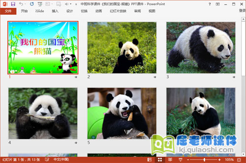 中班科学课件《我们的国宝-熊猫》PPT课件2