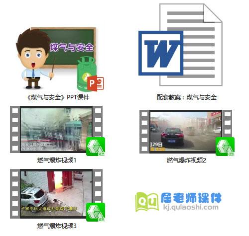 《煤气与安全》PPT课件教案视频