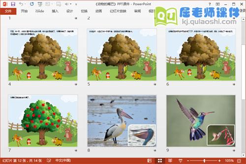 中班科学课件《动物的嘴巴》PPT课件教案图片音效4