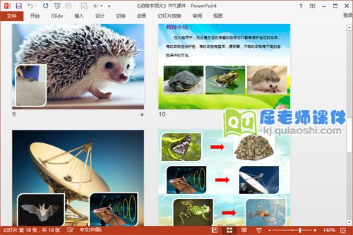 大班科学课件《动物本领大》PPT课件教案图片学具4