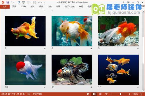 小班科学课件《小鱼游游》PPT课件教案图片6