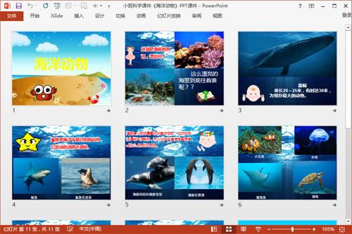 小班科学课件《海洋动物》PPT课件2