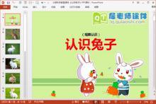 小班科学教案课件《认识兔子》PPT课件下载